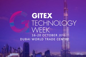 GITEX Exhibition, Dubai, October 16, 2016