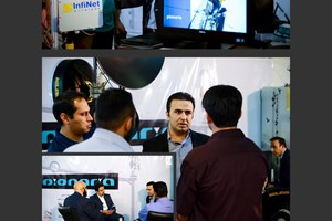 Telecom international exhibition - Tehran